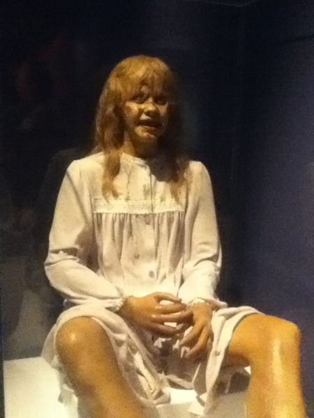 The puppet used in The Exorcist film. (Wikipedia)