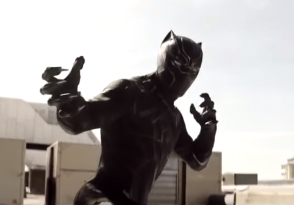 I am absolutely sold on Chadwick Boseman as The Black Panther, and I can't wait to see what he brings in the role. He'll get his own movie in 2018. (YouTube)